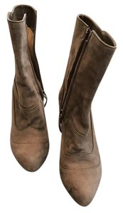 Tod's Suede Ankle Grey Boots