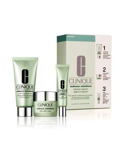 Clinique Clinique Redness Solutions Redness Regimen, 3 Pc Kit, All Skin Types