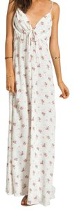 White Delight (Floral) Maxi Dress by Flynn Skye
