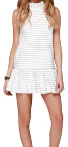 The Fifth Label short dress Black and Ivory on Tradesy
