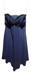 David's Bridal Marine / Navy Blue F14867 Dress