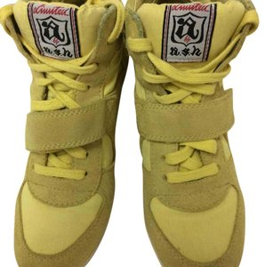 Ash Sneakers Wedge Sneakers Cool Yellow Athletic