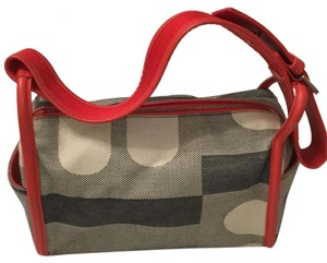 Bally Satchel in multi /red