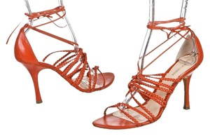 Giorgio Armani Orange Sandals