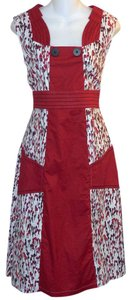 Skunkfunk short dress Red on Tradesy