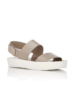 Vince Gray/White Wedges