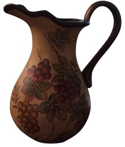 Kirkland's Beautiful Large Decorative Painted Pitcher