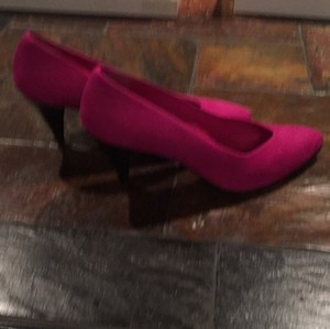 Anne Klein Dark Magenta Pumps