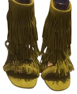 Steve Madden Yellow Sandals