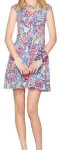 Lilly Pulitzer short dress Blue, Pink, Purple, Tan, Orange, White, Black on Tradesy