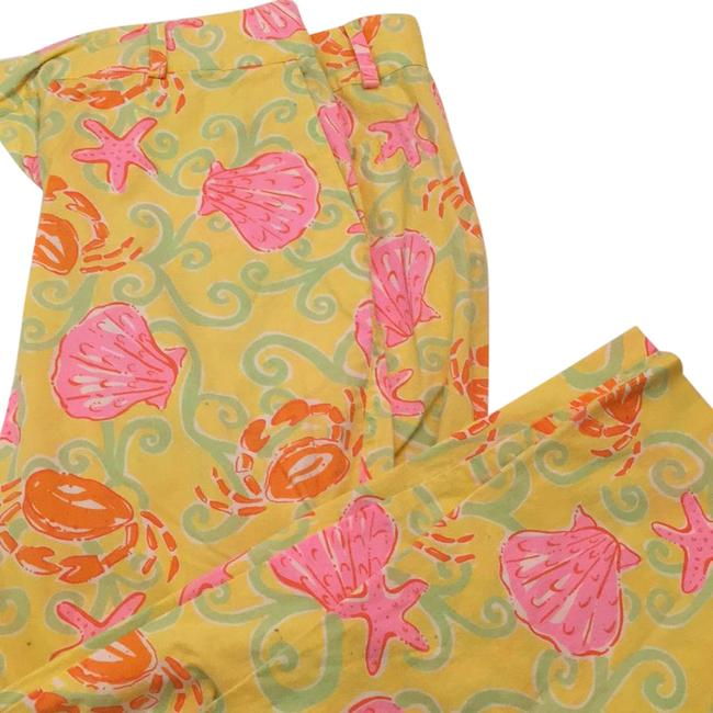 Preload https://item1.tradesy.com/images/lilly-pulitzer-yellow-with-shells-starfish-and-crabs-capris-size-6-s-28-20946970-0-1.jpg?width=400&height=650