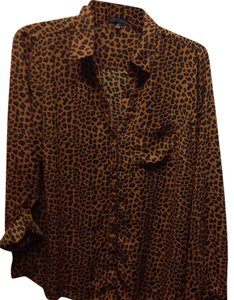 The Limited Button Down Shirt Leopard