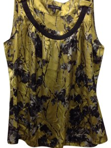 Anne Klein Top Yellow