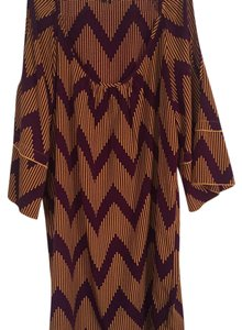 Glam short dress Plum with Gold on Tradesy