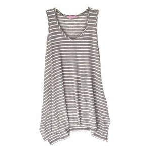 Calypso St. Barth Top light grey and white