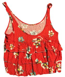 Roxy Top red