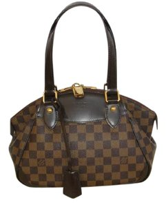 Louis Vuitton Check Made In France Shoulder Bag
