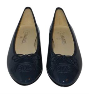 Chanel Brand New In Box BLUE Flats
