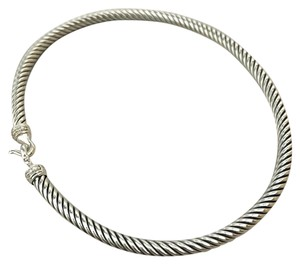 David Yurman 3mm Cable Classics Bracelet with Buckle