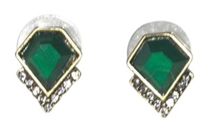 Antique pair of emerald earing