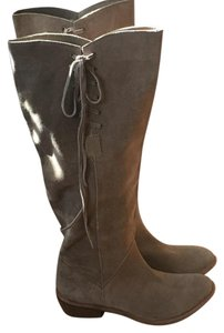 Bronx Suede Cowboy tan Boots
