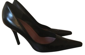 ALDO Leather Stiletto Black Pumps
