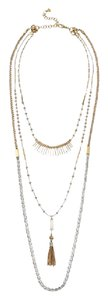 Stella & Dot VERSATILE 7 IN 1 RIAD LAYERING NECKLACE