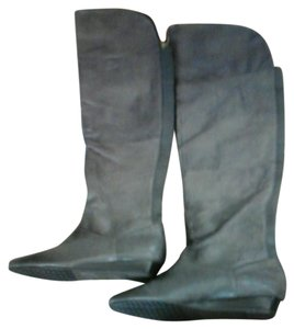 Chinese Laundry Over The Knee Leather Boots