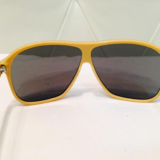 Dolce&Gabbana Women's Blue and Yellow Mirror Lenses Image 10