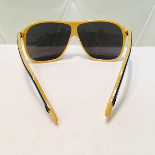 Dolce&Gabbana Women's Blue and Yellow Mirror Lenses Image 2