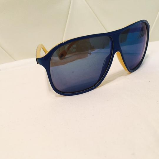 Dolce&Gabbana Women's Blue and Yellow Mirror Lenses Image 7