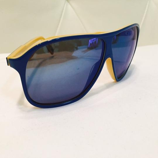 Dolce&Gabbana Women's Blue and Yellow Mirror Lenses Image 9