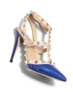 Valentino Brand New In Box BLUE Pumps