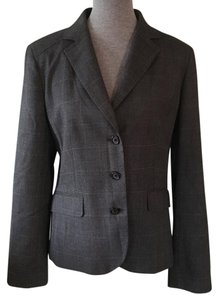 Banana Republic Grey, Black, Gray Blazer
