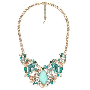 Chloe + Isabel Aquamarina Statement Necklace