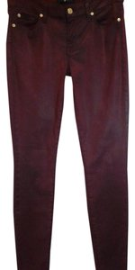 7 For All Mankind Skinny Skinny Jeans-Coated