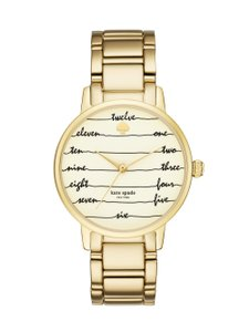 Kate Spade KateSpade Women's Kate Spade New York Gold-Tone Metro Watch KSW1060
