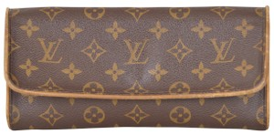Louis Vuitton Monogram Pochette Twin Gm Pouch Shoulder Bag