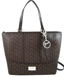 Guess Satchel in Natural brown