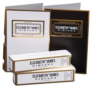 Elizabeth and James Nirvana White for Her EDP Rollerball Duo (0.24oz/7ml each) and sample Nirvana White & Black