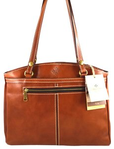Patricia Nash Designs Satchel in Brown Tan
