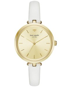 Kate Spade Kate Spade Women's Island Turquoise Leather Holland Watch KSW1117