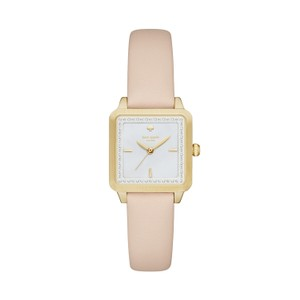 Kate Spade Kate Spade Women's Vachetta Leather Washington Square Watch KSW1113