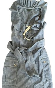 Lucky Brand short dress Blue Denim on Tradesy