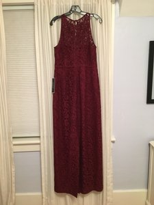 J.Crew Burgundy Wine Pamela- Long Dress