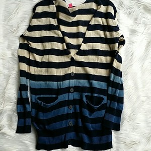 Betsey Johnson Ombre Cardigan