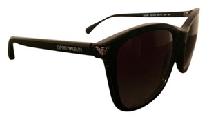 Emporio Armani NEW Emporio Armani EA4060 SUNGLASSES BLACK GREY $130 WITH CASE
