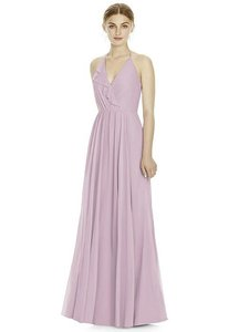 Jenny Yoo Suede Rose Lux Chiffon Jy534 Bridesmaid/Mob Dress Size 12 (L)