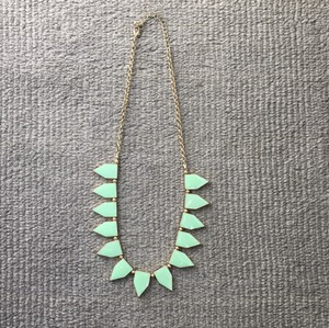 BaubleBar BaubleBar mint green lacquer necklace