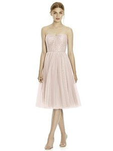Jenny Yoo Blush Pink Soft Tulle Jy535 Bridesmaid/Mob Dress Size 12 (L)